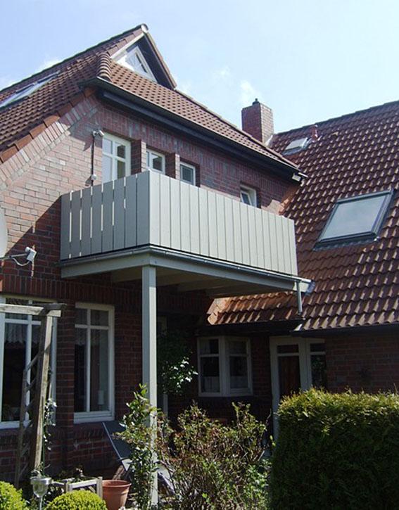 Appartement2 - Balkon von aussen